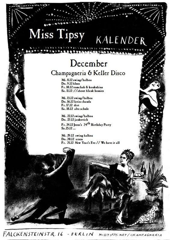 Miss Tipsy Bar | Program :: December 2010