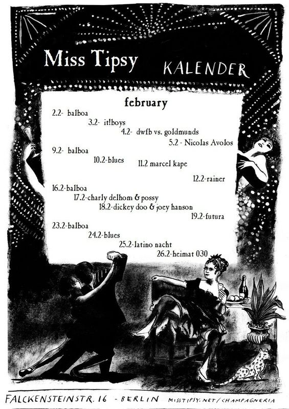 Miss Tipsy Bar | Program :: February 2011